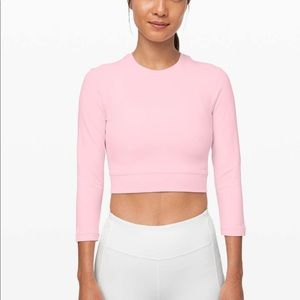 Lululemon Short Stop Long Sleeve